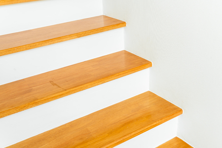 empty architecture of stair step design