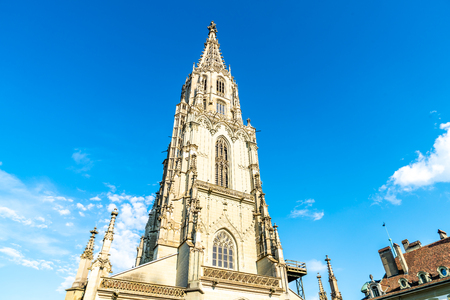 Beautiful Architecture at  Berner Munster cathedral in Switzerland