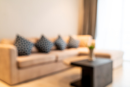 abstract blur and defocused living room interior for background