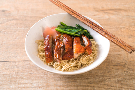 roasted duck noodles - Asian food style