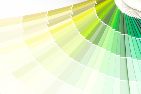 sample colors catalogue or colour swatches book
