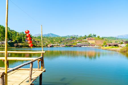 Ban Rak Thai, a Chinese settlement in Mae Hong Son province, Northern Thailand. Editorial