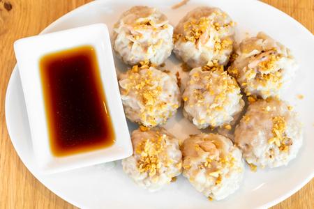 shrimp dumplings dim sum - Asian food style