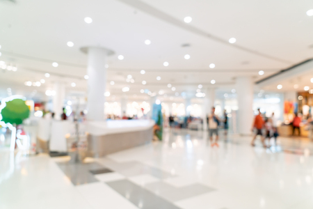 Abstract blur and defocused shopping mall or department store interior for background Imagens - 124767229