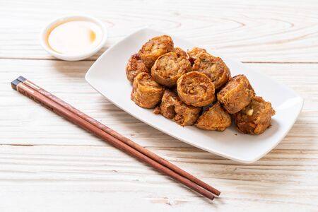 Deep Fried Crab Meat Rolls - Chinese food style