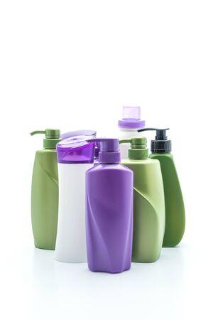 shampoo or hair conditioner bottle isolated on white background Reklamní fotografie