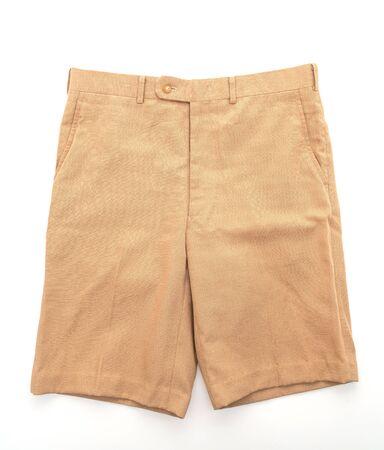 kurze Hose isoliert auf weißem Hintergrund