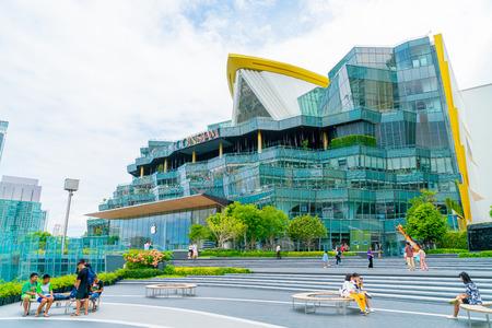 BANGKOK, THAILAND - July 17 2019 : IconSiam department store and Magnolias Waterfront Residences at bangkok, Thailand.