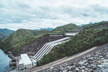 The Srinagarind Dam is an embankment dam on the Khwae Yai River in Kanchanaburi, Thailand.