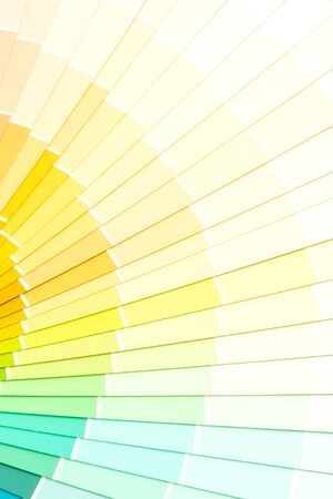 Sample colors catalog pantone or color swatches book Reklamní fotografie