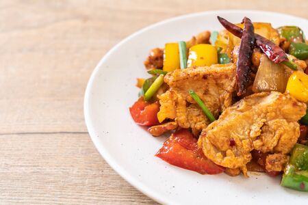 Stir-Fried Chicken with Cashew Nuts - Asian Food