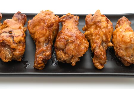 fried chicken isolated on white background Stock Photo - 129541075