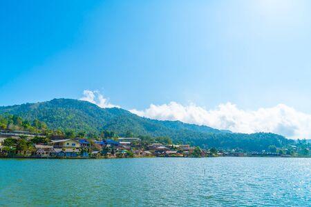 Ban Rak Thai, a Chinese settlement in Mae Hong Son province, Northern Thailand. Фото со стока