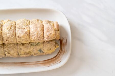 Steamed Crab Meat Roll - Chinese food style