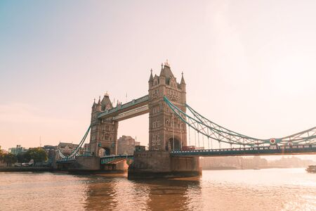 Tower Bridge in London City, UK
