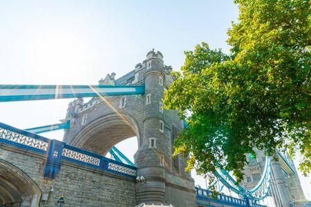 Tower Bridge in London City, UK Stock Photo - 130796668