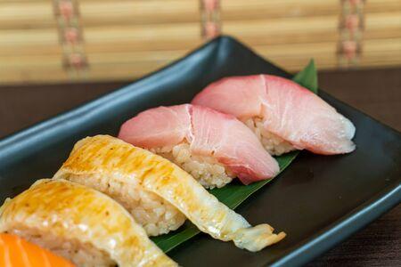mix sushi set - Japanese food style Reklamní fotografie