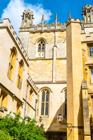 Beautiful Architecture Christ Church Cathedral Oxford, United Kingdom.