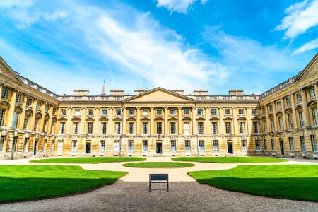 Beautiful Architecture Christ Church Cathedral in Oxford, United Kingdom. Stock Photo