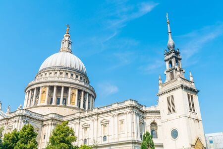 St. Paul's Cathedral church in London, United Kingdom.