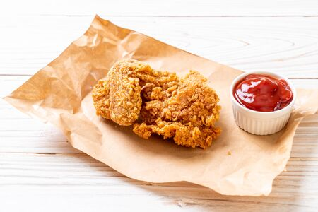 fried chicken meal - junk food and unhealthy food