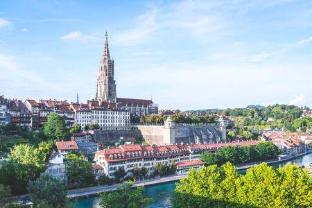 Beautiful Architecture at Bern, capital city of Switzerland Stockfoto