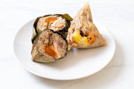 sticky rice dumpling - Asian food style