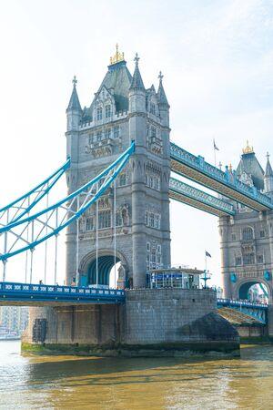 Tower Bridge in London City, UK