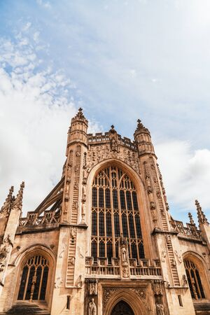 The Abbey Church of Saint Peter and Saint Paul, Bath, commonly known as Bath Abbey, Somerset England, United Kingdom.