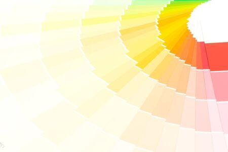 sample colors catalogue pantone or colour swatches book Foto de archivo - 134605973