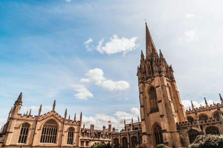 Oxford University Church of St Mary the Virgin in Oxford, United Kingdom