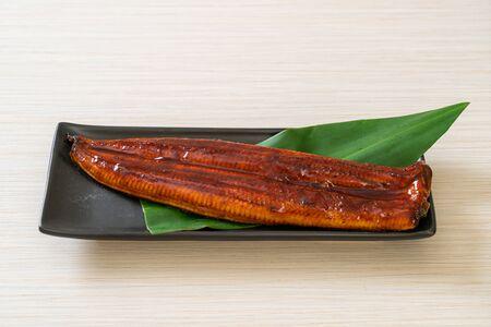anguille grillée ou unagi grillé avec sauce (Kabayaki) - .Cuisine japonaise.