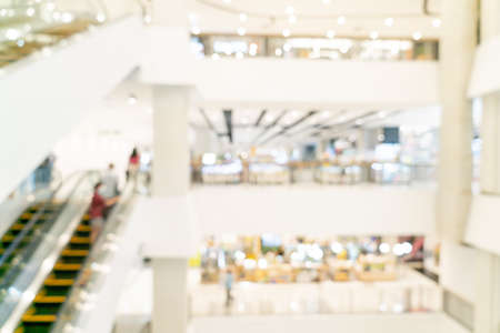 abstract blur shopping mall and retail store for background Foto de archivo