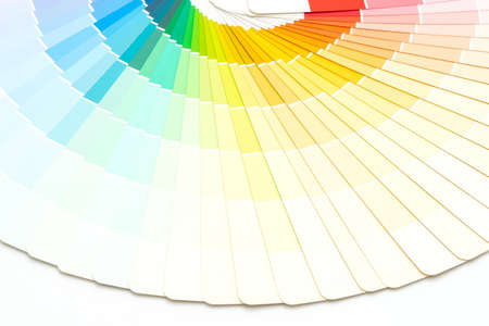 sample colors catalog or color swatches book Archivio Fotografico
