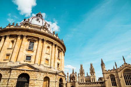 Radcliffe Camera, Bodleian Library, Oxford University, Oxford, Oxfordshire, England, United Kingdom Stock Photo