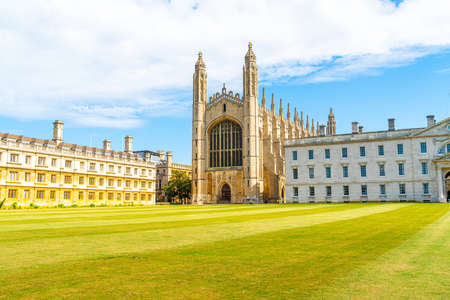 Beautiful Architecture at King's College Chapel in Cambridge, UK