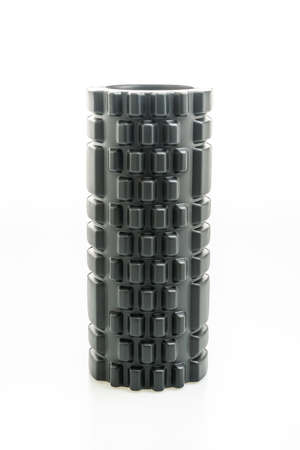 foam roller isolated on white background