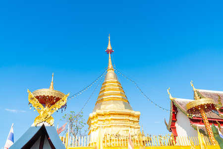 Wat Phra That Doi Kham (Temple of the Golden Mountain) in Chiang Mai, Thailand