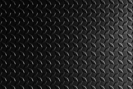 black metal steel texture for background with copy space