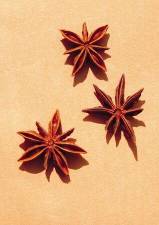 badiane: Close-up de l'anis �toil�