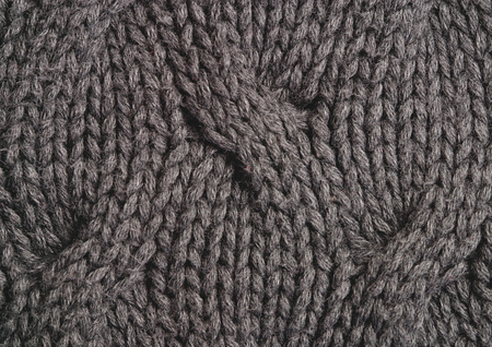 Close-up of a woven woolen fabric Stock Photo - 1943935