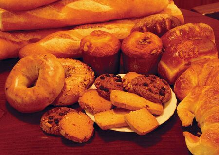 Close-up of assorted breads Stock Photo - 1944329