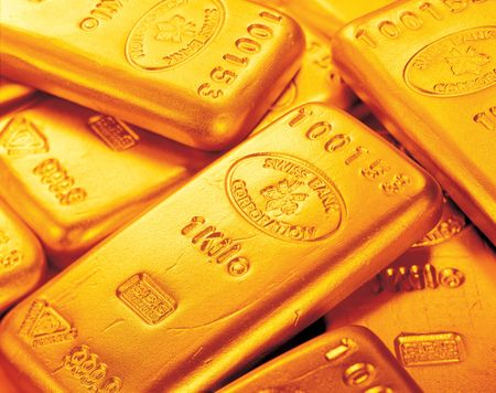 asset: Close-up of gold biscuits