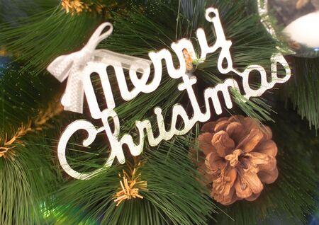 stock vista: Close-up of Christmas decorations