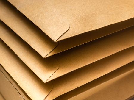 padded: Brown envelopes
