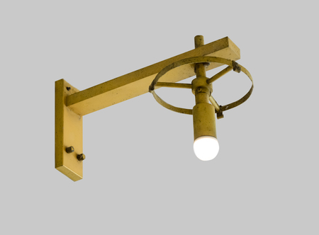 Old fashion lamp.