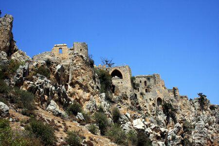 Saint Hilarion Castle in Northen Cyprus