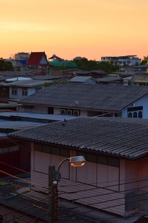 krottenwijk: Achterbuurt Stockfoto