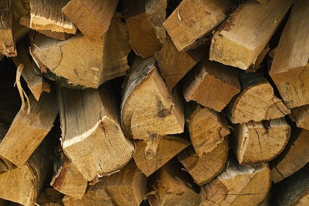 Firewood redy to heating Stock Photo - 13558358