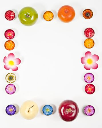 Fruit frame Stock Photo